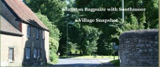 Kingston Bagpuize - a Village Snapshot