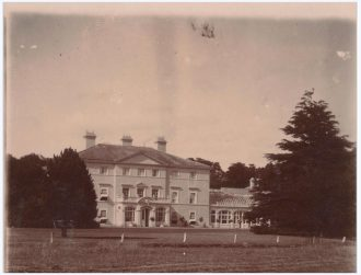 Stillington Hall. Postcard dated 1935. Photograph taken from the south west corner of the Park.