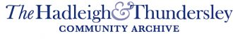 Hadleigh & Thundersley Community Archive: H&TCA