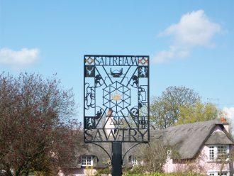 Sawtry Village Sign