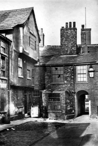 Lambert's Yard, circa 1900