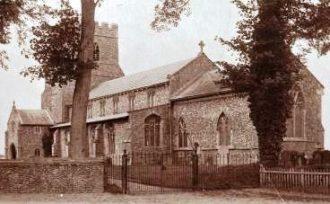 Ashill St. Nicholas Church c1910