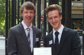 Liam Heatherson and Joe Mander Community Archive and Heritage Group of the Year'