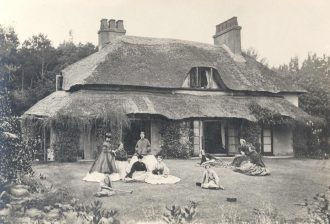 Cliff Cottage, 1863
