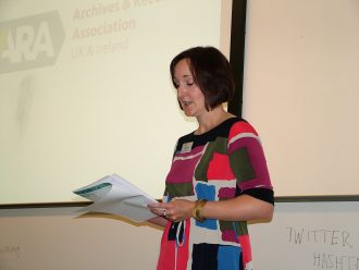 Keynote: Katy Goodrum, Chair, Archives and Records Association UK and Ireland