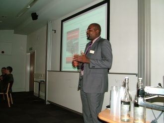 Show and tell: Frederick Ebot Ashu, CAASS UK, African Heritage Initiatives