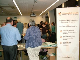 Community Archives and Heritage Group (CAHG) Conference 2011