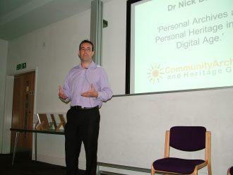 keynote speaker Dr Nick Barratt