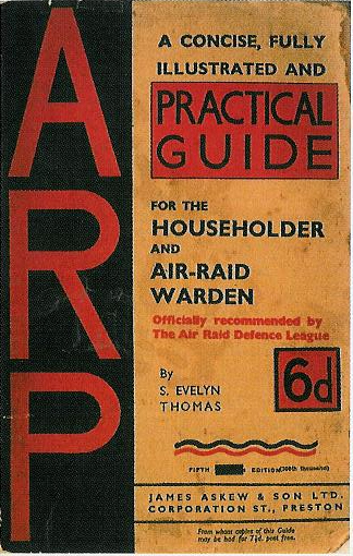 Guide during air-raid