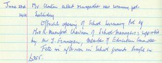 Hooe Primary School Community Archive