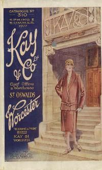 Cover of Kay's Spring/Summer 1927 catalogue