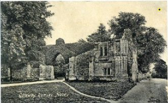 Ramsey Abbey Gatehouse, c.1900