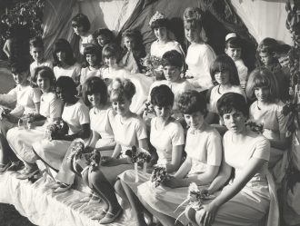 Letchworth May Queen and attendants 1965