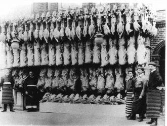 H. Mitchells - butchers Christmas 1912