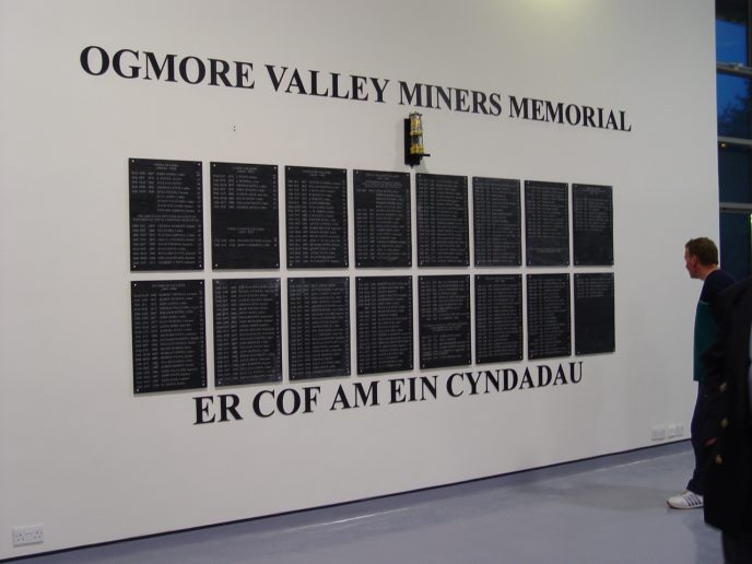Ogmore Valley Miners Memorial