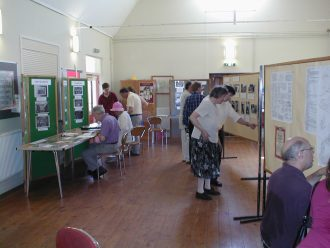 Exhibition of archives in the Village Hall
