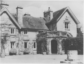 The Manor House - our first home