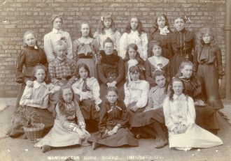 Girls in the 1890s
