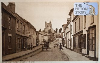 View of Pilton Street in the early 1900s