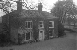 The grade 2 listed farmhouse in the heart of the Shrublands site