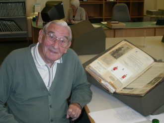 Sid Richardson, project volunteer and REME veteran