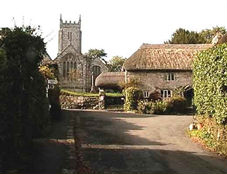 Throwleigh Church and Church House