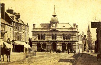 Towcester Town Hall c.1870