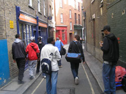 Walking Tour of Brick Lane
