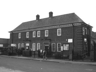 This building on Willoughby Street, New Lenton, Nottingham, began life as a community laundry and wash-house in 1931. In 1966 a small swimming pool was added and in 1979 part of the building was converted into a community centre. In 2006, the building was sold to Lenton Community Association for £10 and turned into a community owned social enterprise called The Lenton Centre.
