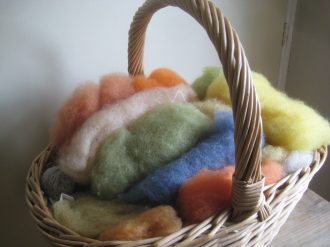 A basket full of colour
