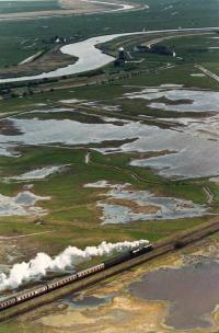 Steam on the Marshes