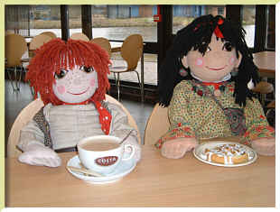 Rosie & Jim, fictional canal-boat dwellers!