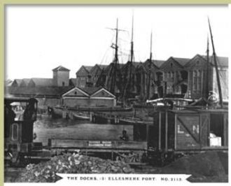 The Docks, Ellesmere Port, circa 1900