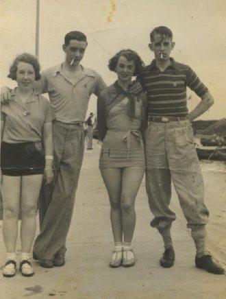 At Butlins Holiday Camp, Skegness, 1935