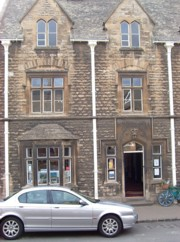 The old police station in Chipping Campden where the archive is stored