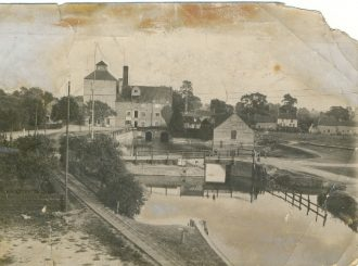 Clark and Butcher's mill, Soham, C1900