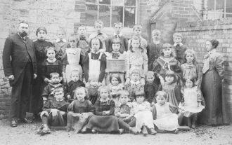 Burrough Green School - 1900