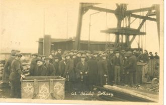 Chislet Colliery Pit Top, circa 1920