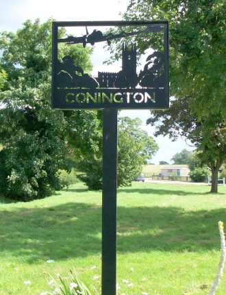 Conington Village Sign