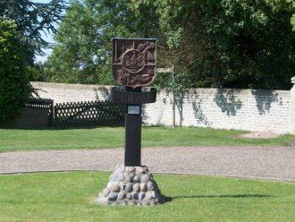 Holme Village Sign
