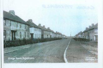 King's Road, Aylesham, circa 1940