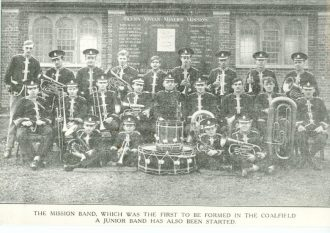 The Glynn Vivien Miners Mission Band, circa 1930