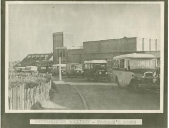 Betteshanger Colliery Workmen's Buses, circa 1934