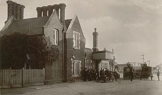 Dereham Station in 1910.