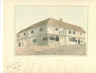 Middle Row, market place Barnet c. 1810
