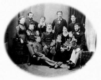 The Hessleberg family 1860s