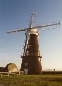 Berney Arms Mill, 1989.