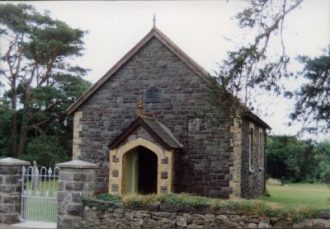Mountain Chapel Llanteg - now sadly closed and demolished - but the site has been made into a memorial garden.