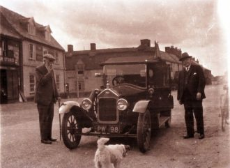 Cars were rare in Ludham Street