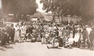 The 1919 Peace Celebrations, Upwood